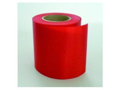 Stuha 100 mm x 25 m - červená