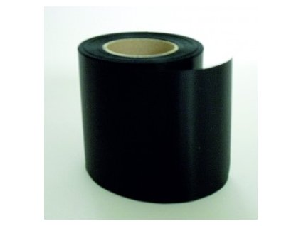Stuha 75 mm x 25 m - černá