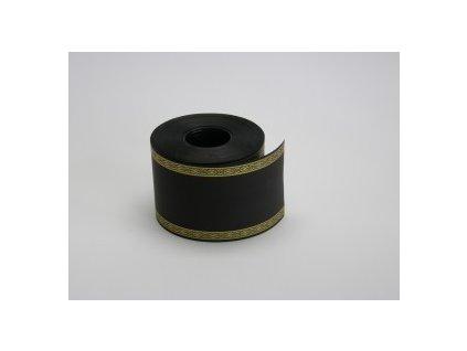 Stuha 75 mm x 50 m, černá