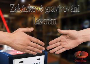Zakázkové gravírování laserem