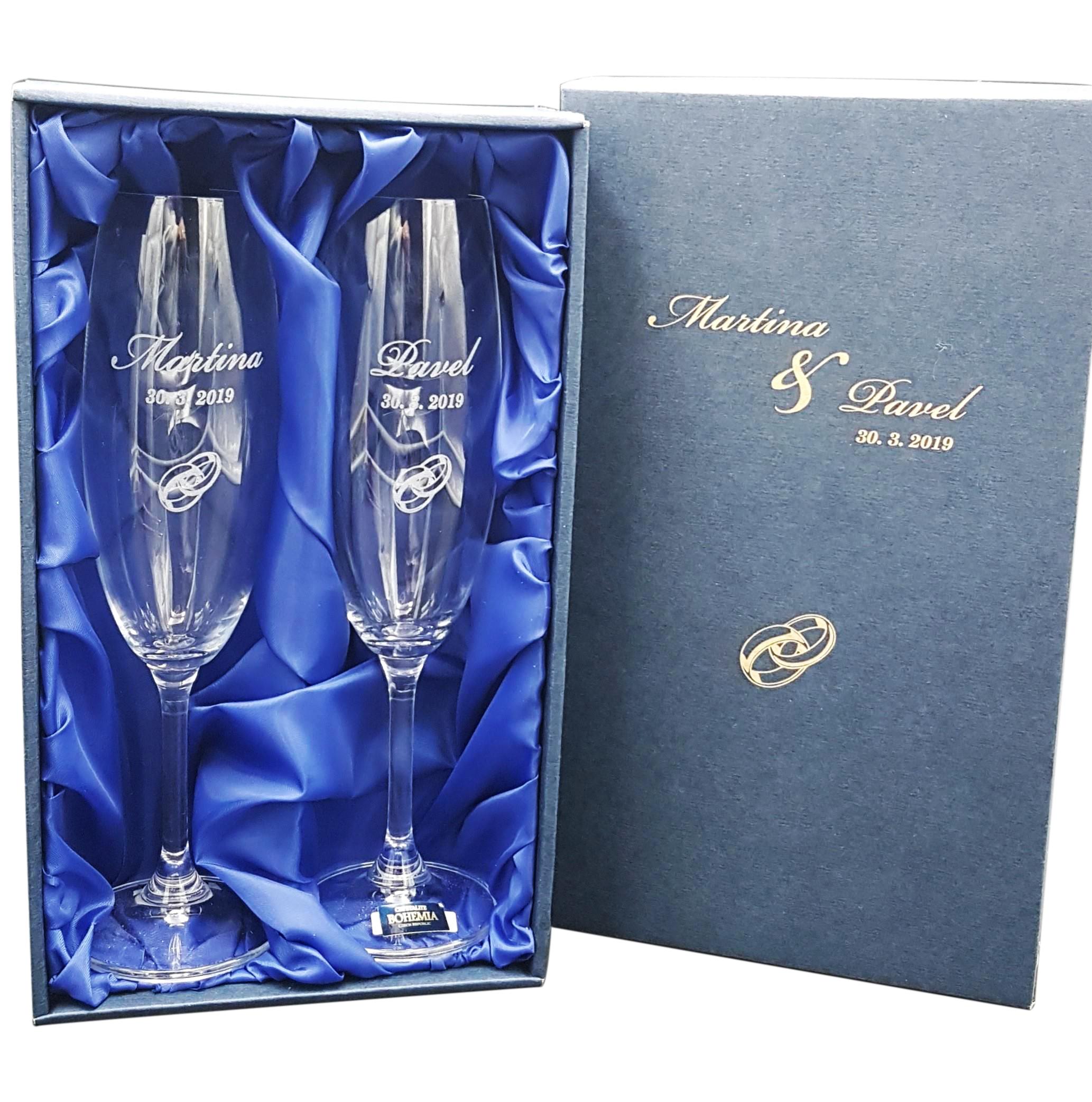 Svatební skleničky