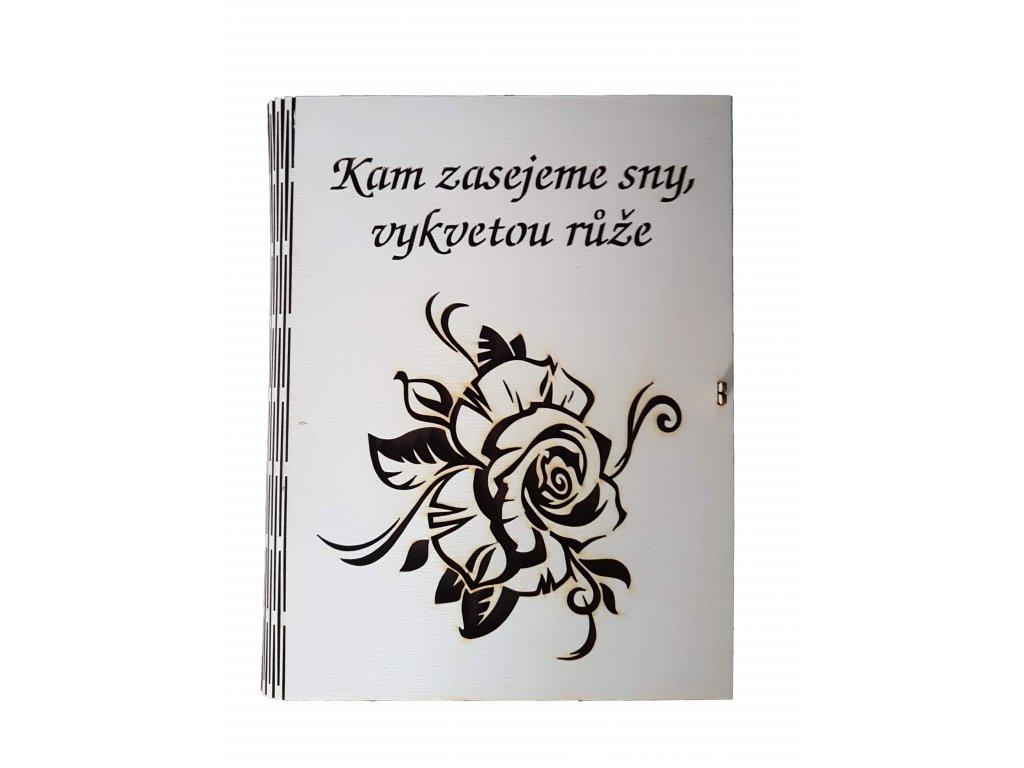 Svatební kniha růže
