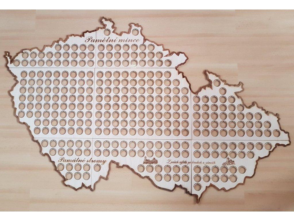 Mapa - pořadač na pamětní mince