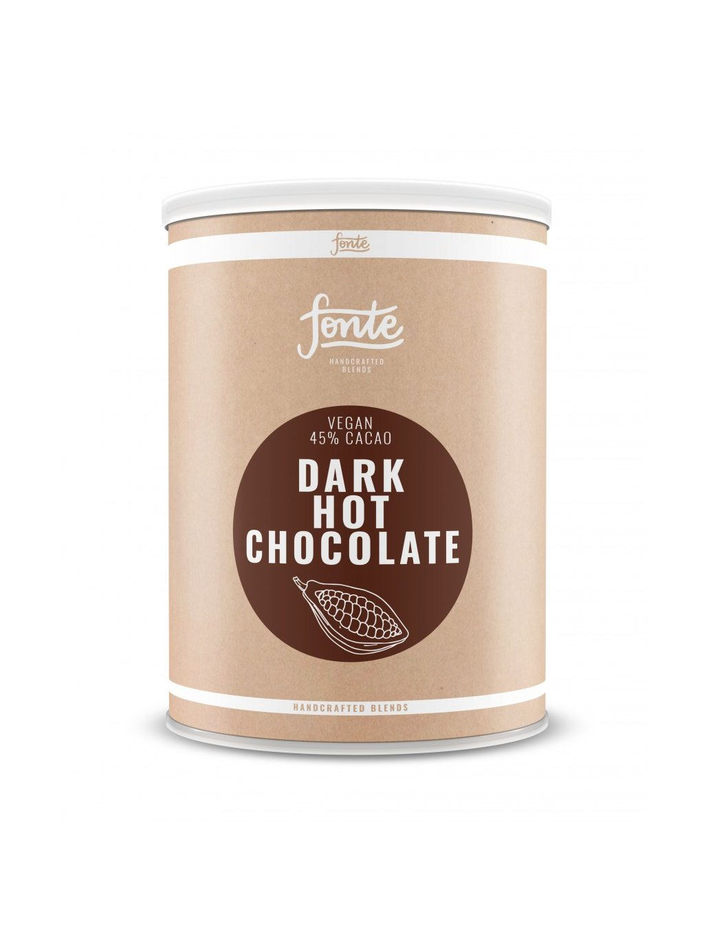 2789 fonte dark hot chocolate 2kg