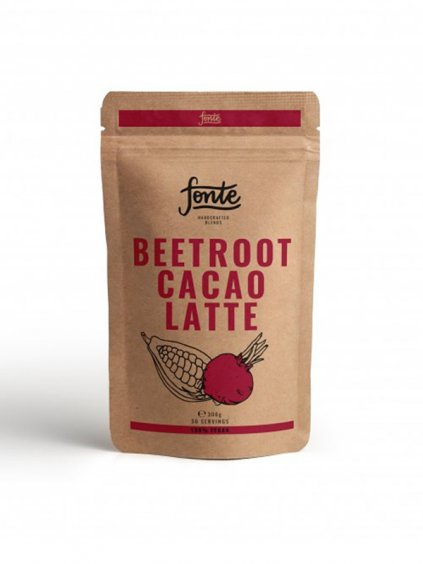 fonte beetroot cacao latte 1