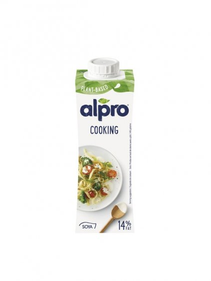alpro soy cook green heads