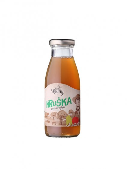 mostarna louny hruška 250ml green heads