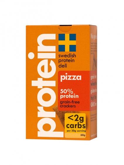 swedish protein deli pizza green heads 1