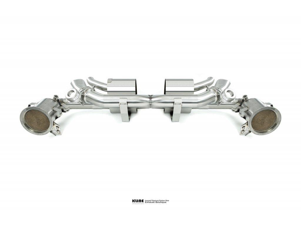 Porsche 992 Carrera 200cell cat pipe set (OEM FIT)
