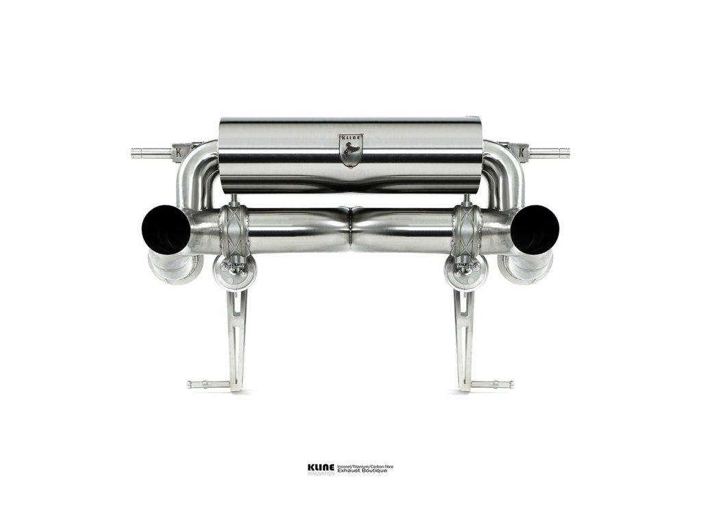 Lamborghini Aventador SVJ valvetronic rear system