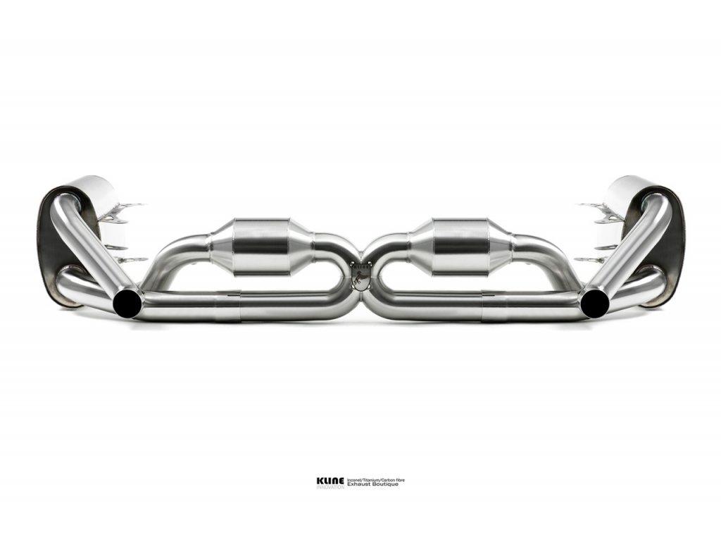 Porsche 997 Carrera 3.6 2005-2008 silencer section