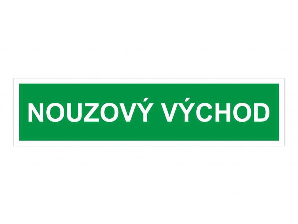 U23.nouzový vychod
