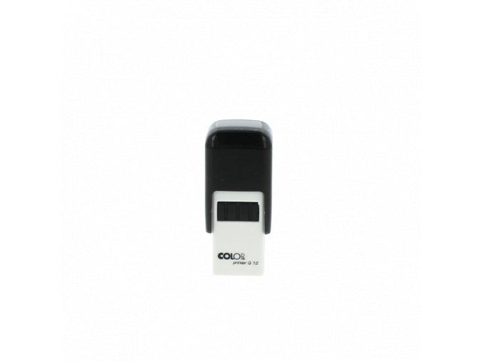 Samonamáčecí razítko COLOP Printer Q12 (BARVA INKOUSTU ŽLUTÁ)