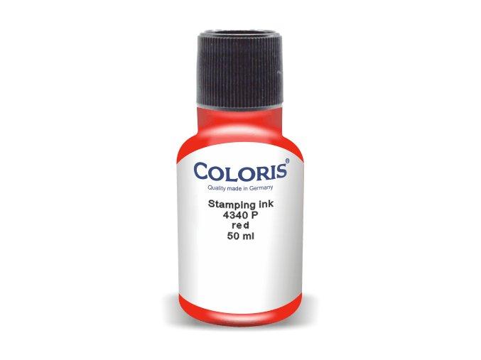 Barva Coloris ® 4340 P - 50ml (Barva inkoustu RŮŽOVÁ)