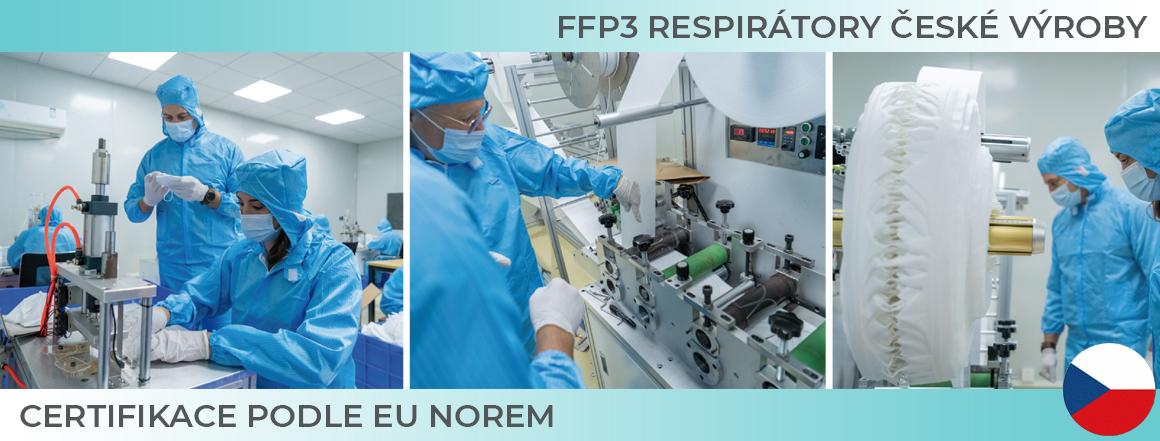 FFP3 české výroby