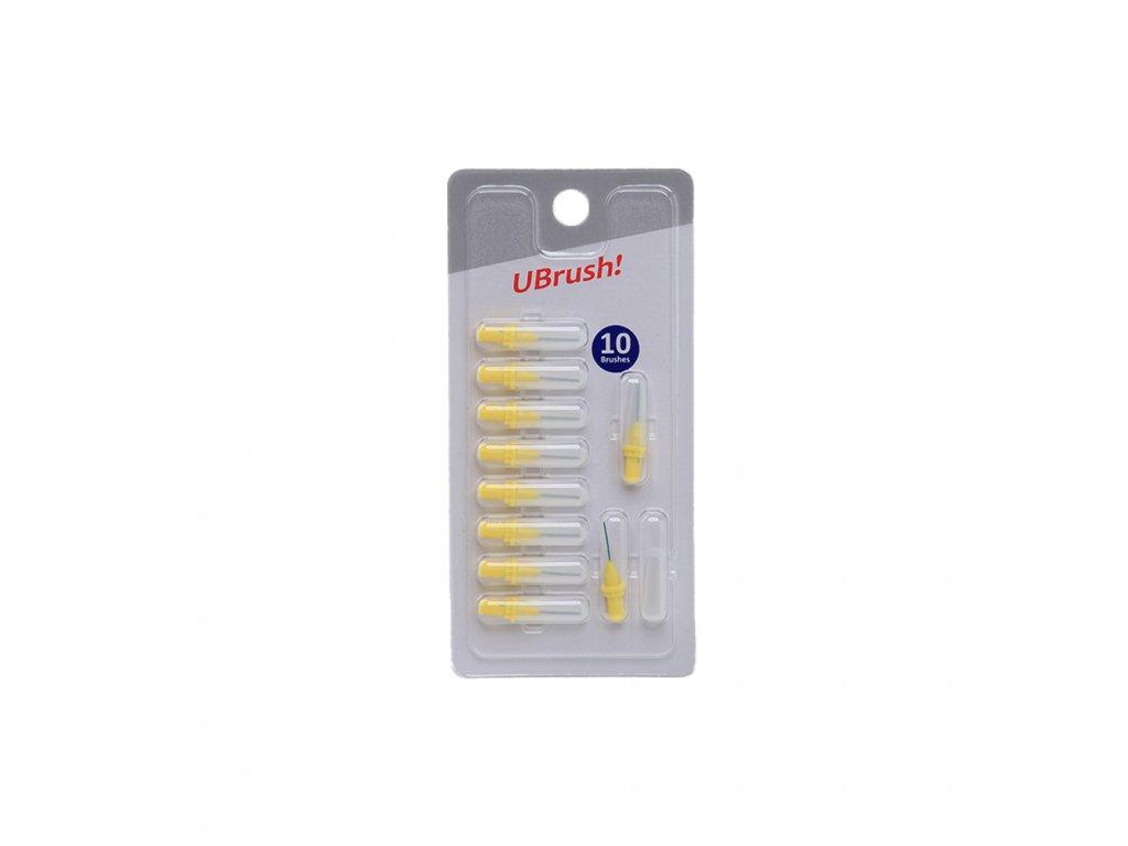 doplňková balení mezizubních kartáčků HERBADENT