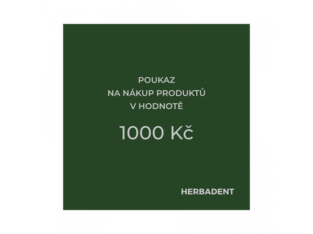 poukaz produkt 1000
