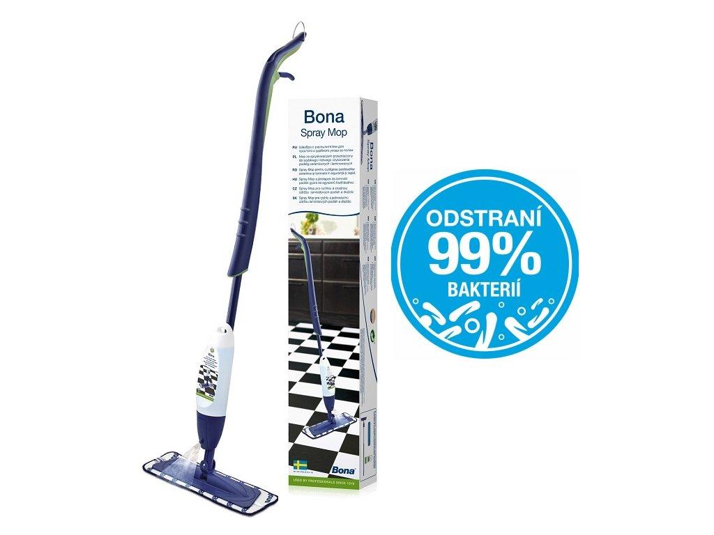 Bona Spray mop pro dlaždice a laminatové podlahy