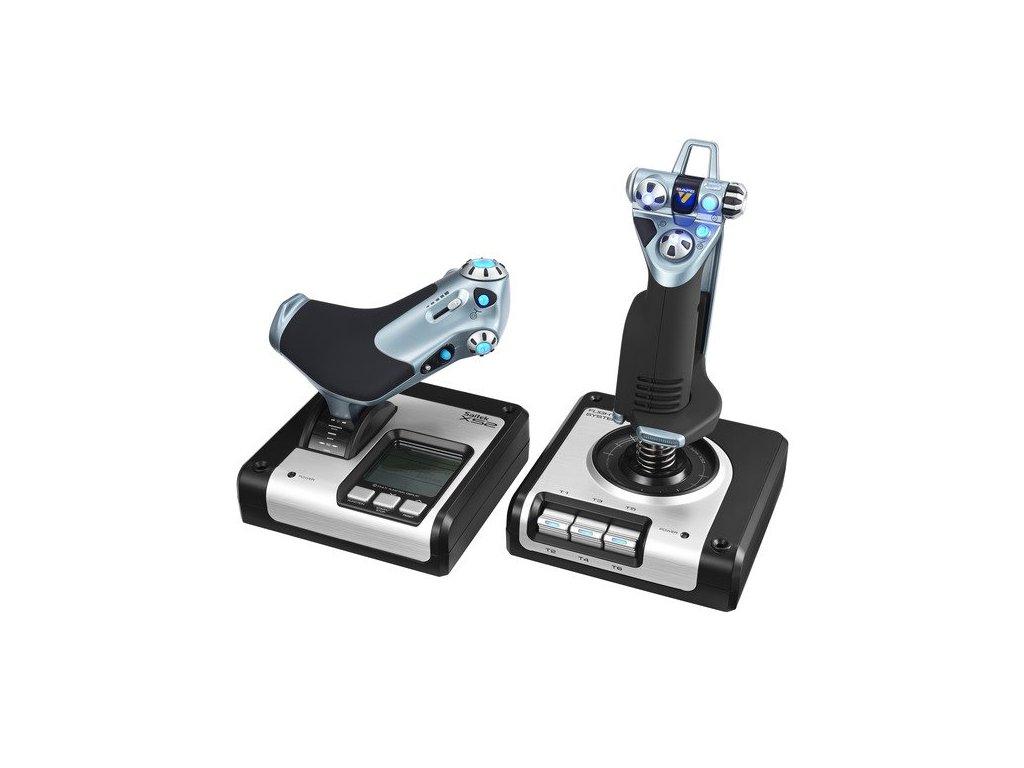 Logitech G Saitek X52 Flight Control System, USB