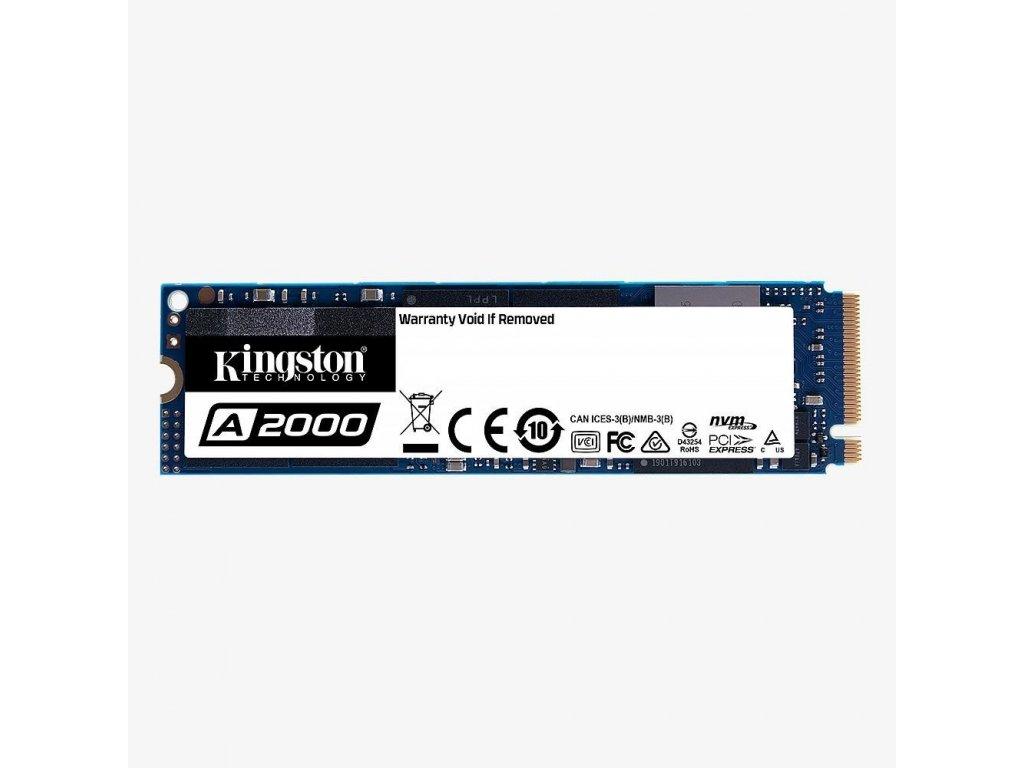 KINGSTON SSD A2000 250GB PCIe NVMe