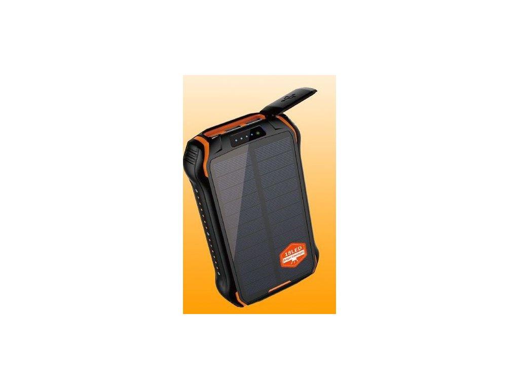 Solární powerbanka Wodasport® SolarDozer I-268W, Outdoor Adventure™ 26800 mAh 6v1