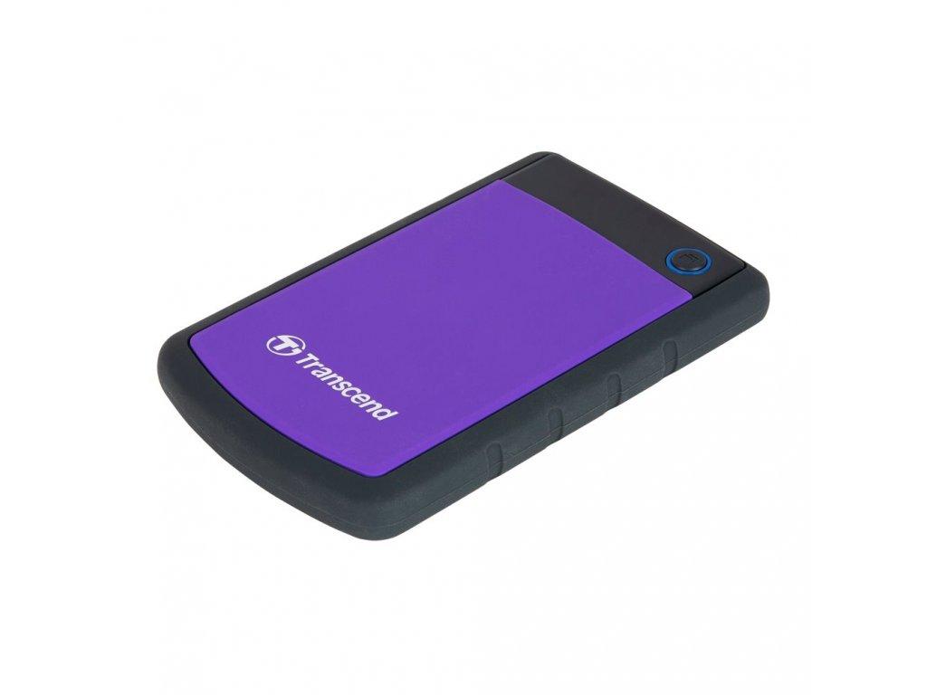 Transcend StoreJet 25H3 Slim 2TB, fialový