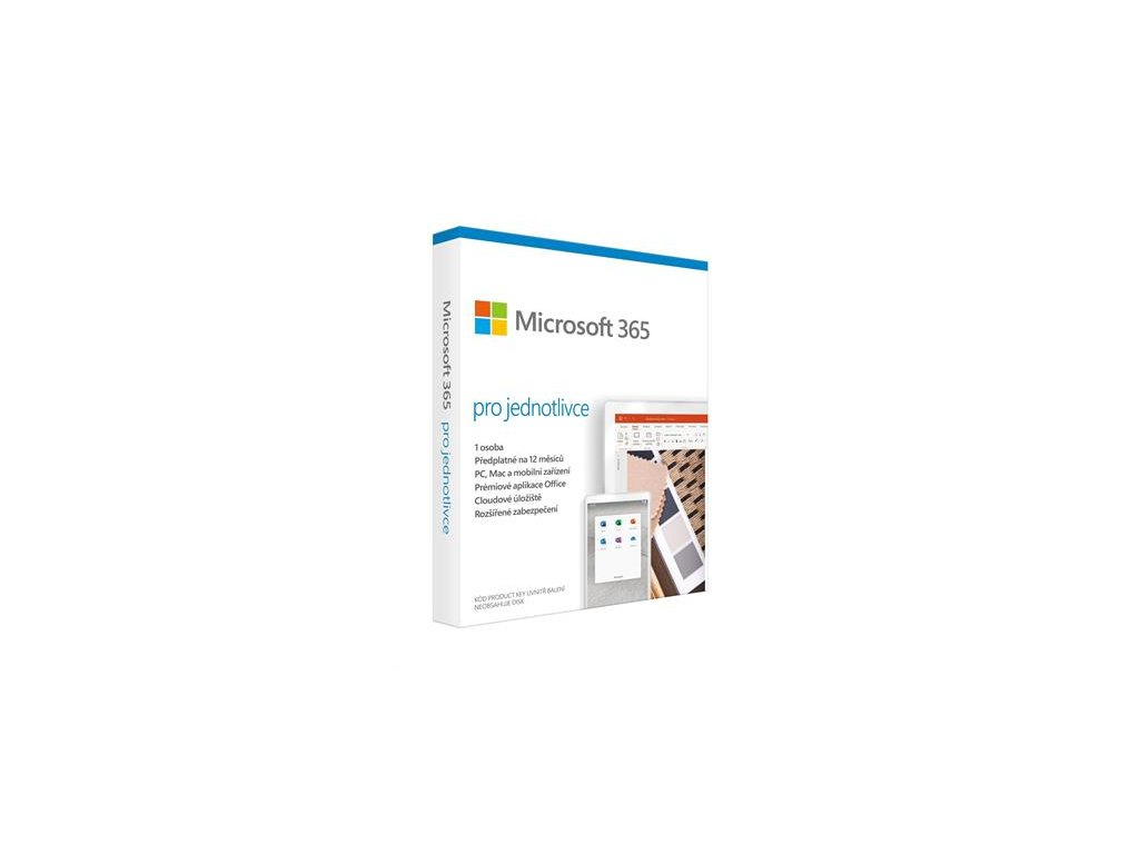Microsoft 365 pro jednotlivce (QQ2-00986)