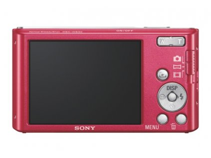 Sony DSC-W830, růžový