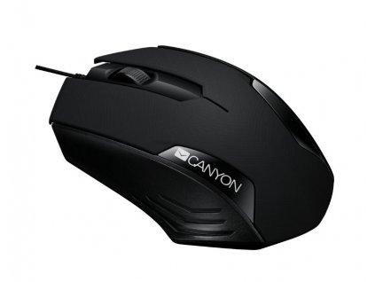 CANYON myš optická drátová CNE-CMS02B