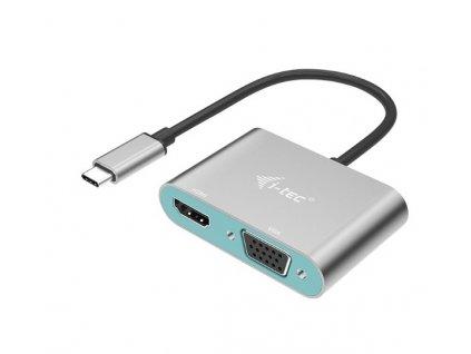 i-tec USB-C Metal HDMI and VGA Adapter