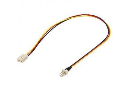 Prodlužovací kabel k ventilátoru 3pin samec - 3pin
