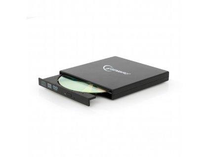 Gembird DVD-USB-02, černá