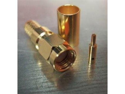 VF konektor RP-SMA male na H155, RF240, pozlacený