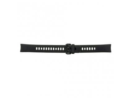 Tactical silikonový řemínek pro Honor Band 4/5 Black - černý