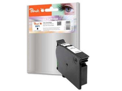 Peach E071 černá kompatibilní s Epson T0711