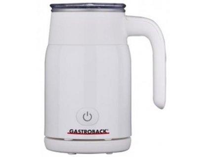 Gastroback profi automatický výrobník mléčné pěny 42325 bílý