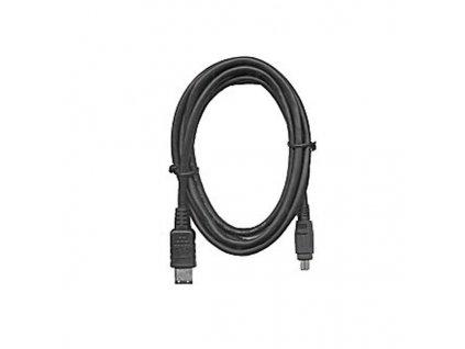 KABEL Firewire 1394 kabel 6pin-4pin 2m