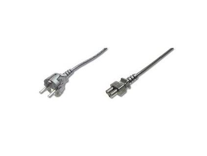 PremiumCord napájecí kabel pro notebooky 3-pólový 1,8m