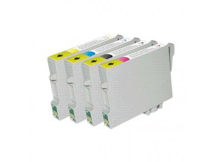 EVOLVEO inkoustová náplň T0712 pro Epson D78, D92, D120, DX4xxx - azurová (cyan) - 15ml (s čipem)