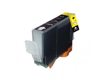 EVOLVEO inkoustová náplň CLI-8BK pro Canon - černá (black) / 14 ml (s čipem)