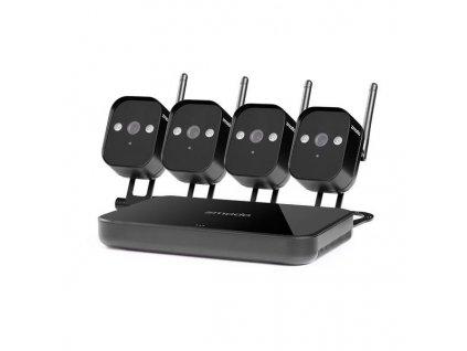 Zmodo WiFi Mini 720p Kit 4CH kamerový systém + 4x720p ZM-W1001-O kamera
