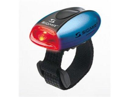 SIGMA světlo zadní MICRO modrá / zadní světlo LED-červená