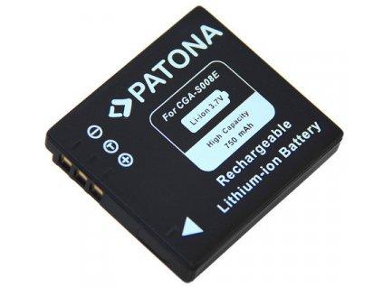 Patona PT1044 - Panasonic S008E 750mAh Li-Ion