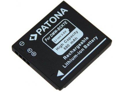 Patona PT1091 - Panasonic DMW-BCK7E 680mAh Li-Ion