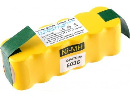 Patona PT6035 - Baterie iRobot Roomba 3300mAh, APS Battery, Ni-MH pro sérii 5xx, 6xx, 7xxx a 8xx