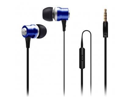 Connect IT Alu Sonics EP-224-BL CI-1042 sluchátka s mikrofonem