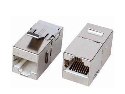 PROPOJKA STP 2x RJ45 cat.6 F8p8c-F8p8c