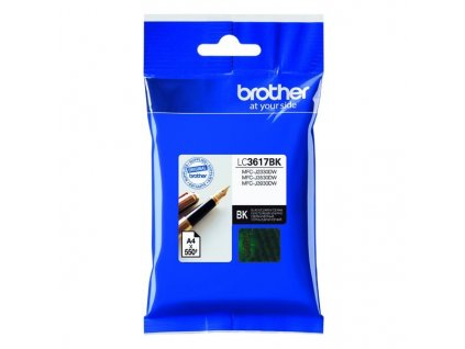 Brother LC-3617BK černá - originální