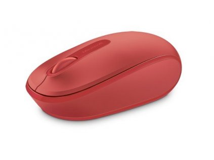 Microsoft Wireless Mobile Mouse 1850, červená (U7Z-00034)