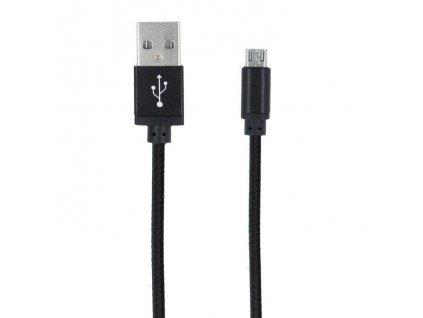 Forever DATAMICROTFO02 DATOVÝ KABEL TFO MICRO USB černý